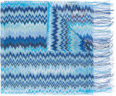 Missoni zig zag crochet knit scarf - women - Viscose - One Size