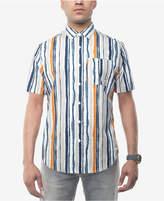 Sean John Men's Watercolor Stripe Shirt