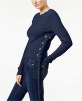 MICHAEL Michael Kors Lace-Up Sweater