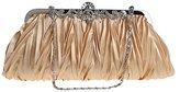 niceEshop(TM) Womens Vintage Satin Envelope Cocktail Evening Bag Party Handbag