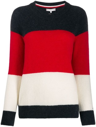 Tommy Hilfiger Knitted Striped Jumper