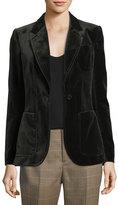 Ralph Lauren Afton Velvet Blazer Jacket