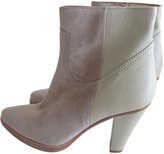 Chloé Grey Suede Ankle boots