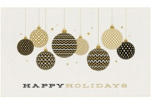 """Mohawk Holiday Ornaments Accent Rug, 18"""" x 30"""" Bedding"""