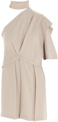 IRO Fundi One-Shoulder Mini Dress