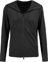 Theory Theory+ Runi stretch-piqué hooded sweatshirt