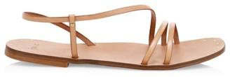 Joie Baja Leather Flat Sandals