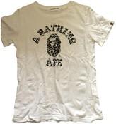 A Bathing Ape White Cotton Top for Women