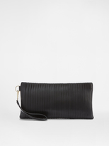DKNY Pleated Clutch