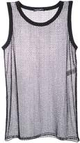 Dolce & Gabbana netted tank top