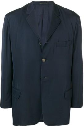 Yohji Yamamoto Pre Owned 1990's Buttoned Blazer