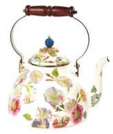 Mackenzie Childs 3-Quart Morning Glory Tea Kettle