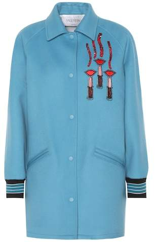 Valentino Wool and cashmere jacket