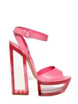 Casadei 150mm Patent Glossy Sandals