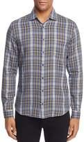 BOSS ORANGE Epop Plaid Long Sleeve Button-Down Shirt