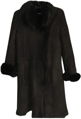 Joseph Brown Suede Coats