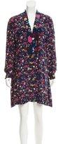 Kenzo Printed Silk Dress w/ Tags