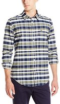 Lacoste Men's Long Sleeve Oxford Check