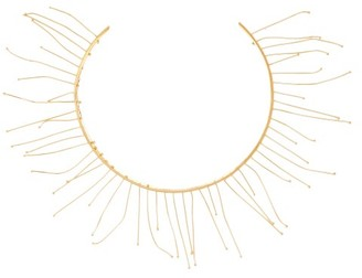 Jil Sander Nail-embellished Necklace - Womens - Gold