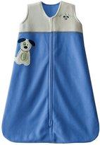 Halo SleepSack Applique Micro-Fleece Wearable Blanket, Blue, Small
