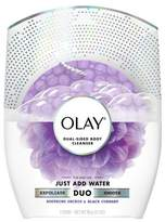 Olay Duo Soap - Dual-Sided Body Cleanser Soothing Orchid & Black Currant - 3.1oz