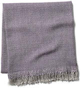 Sefte Chuspi Alpaca Throw - Lavender/Cream