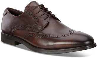 Ecco Melbourne Leather Wingtip Derby