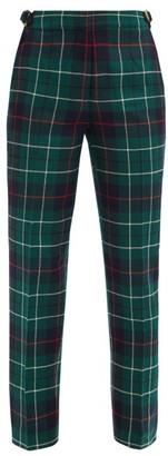 Duncan - Duncan Tartan Cotton-twill Straight-leg Trousers - Green Multi