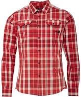 Firetrap Mens Snipper Long Sleeve Shirt Blood Red