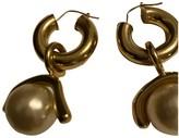 Celine Baroque Gold Metal Earrings