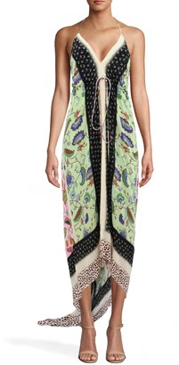 Nicole Miller Chabana Scarf Angelina Dress