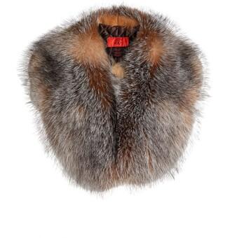 Canadian Hat Large Fox Fur Collar
