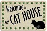 Kohl's Paw-Print Cat Floor Mat
