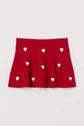 H&M Fine-knit skirt
