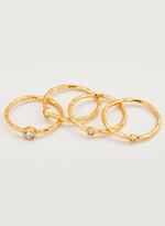 Gorjana Shimmer Stacking Ring Set