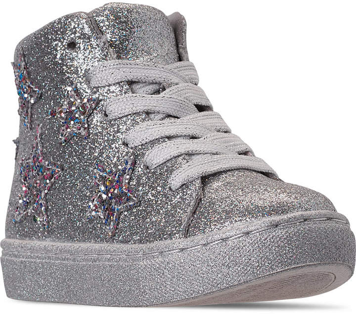 4205799d1af Toddler Girls Taustin High Top Fashion Casual Sneakers from Finish Line