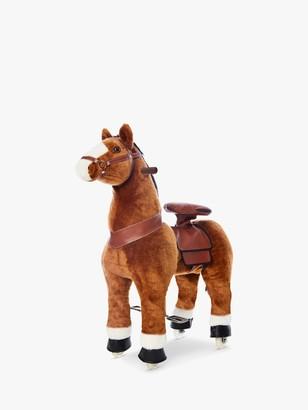PonyRider Plush Ride-On Pony