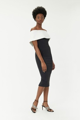 Coast Curve - Scuba Bardot Dress