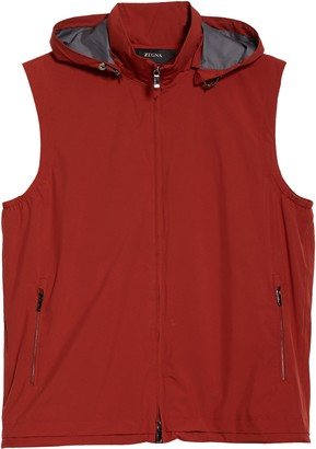 Ermenegildo Zegna Feather Weight Hooded Vest