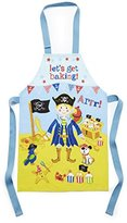 Cooksmart Kids Cotton PVC Captain Flapjack Apron, Blue