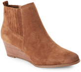 Franco Sarto Cognac Wayra Wedge Ankle Booties
