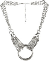 Circle Diamond Dusted Necklace
