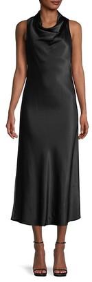 Frame Cowlneck Midi Dress