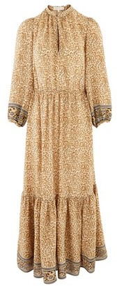Vanessa Bruno Viscose long Noisette dress