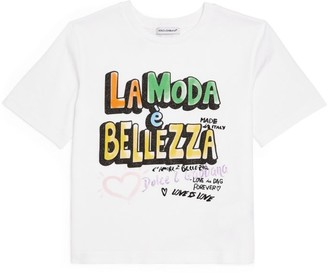 Dolce & Gabbana Kids L'Amore E Bellezza T-Shirt (2-6 Years)