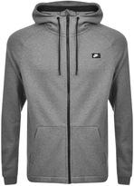 Nike Full Zip Hoodie Grey