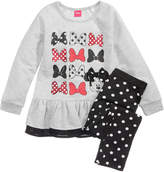 Disney 2-Pc. Minnie Mouse Top and Leggings Set, Toddler Girls (2T-5T)