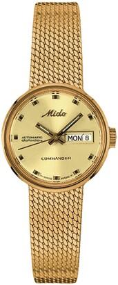 MIDO Commander 1959 Automatic Mesh Strap Watch, 23.5mm