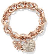 New York & Co. St. Jude Locket Bracelet