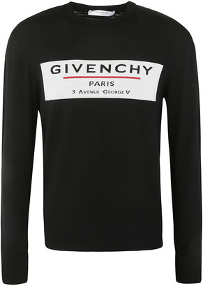 Givenchy Logo Chest Sweater